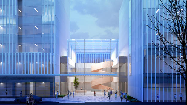 Philadelphia Neurologic Institute Will Be Department-Less Health Building That Redefines Patient Care | Yazdani Studio of CannonDesign