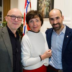 Pierre Corriveau, Marie-Josée and Lacroix, Bruno Demers Photo credit: Mathieu Rivard