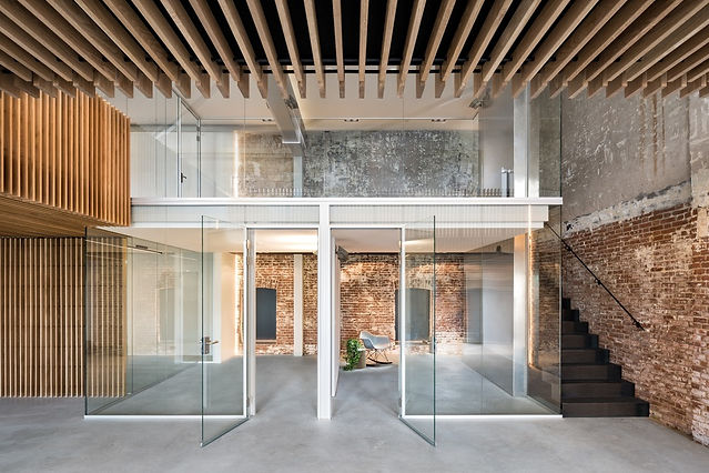 CONVERTED WAREHOUSE-Firm Architects