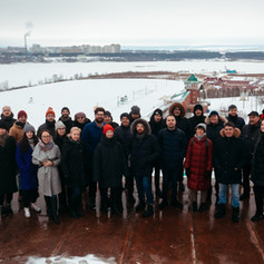 FEB 19th 2020- DAY 1 THE FINALISTS VISITED THE COMPETITION TERRITORY AND MET WITH THE EXPERTS