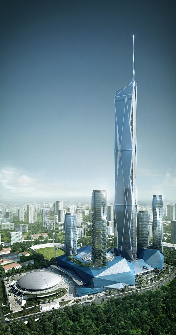archiol.com- future top 13 tallest buildings in the world