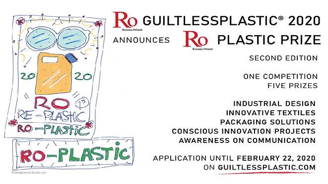 RO PLASTIC PRIZE 2020