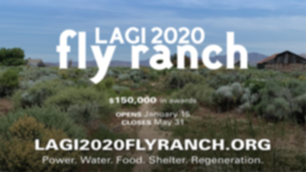 LAND ART GENERATOR INITIATIVE 2020: Design the Future of Fly Ranch