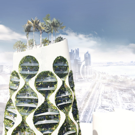 VERTICAL OASIS BUILDING - FAAB Architektura