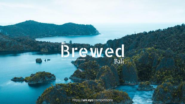 Brewed - Bali - Beach themed café design challenge