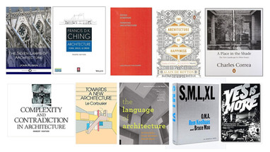 List of Essential Books for Architects and Architecture Students