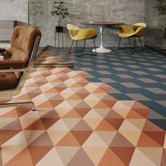 Winner in Design, Architectural Products    Tarkett North America: iD Mixonomi  Photo credit: AZURE