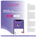 Innovation in Communication and Social Networks winner - DISCOVR+ by Mei Leung