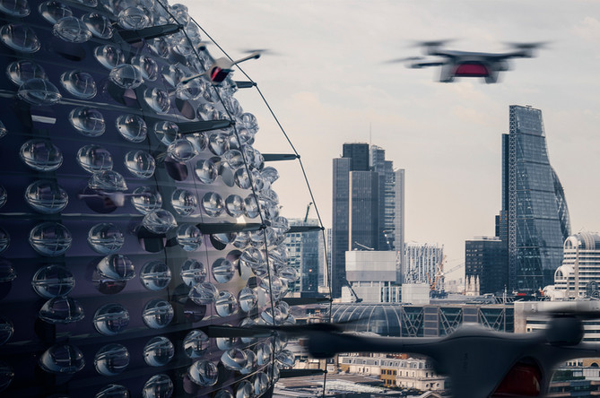 DRONES AND ARCHITECTURE IN THE BATTLE AGAINST THE CORONAVIRUS!