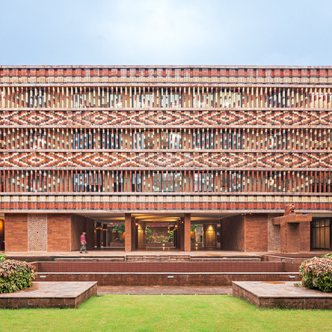 Winner and People's Choice in Social Good    Studio Lotus: Krushi Bhawan, Bhubaneswar, India  Photo credit: AZURE
