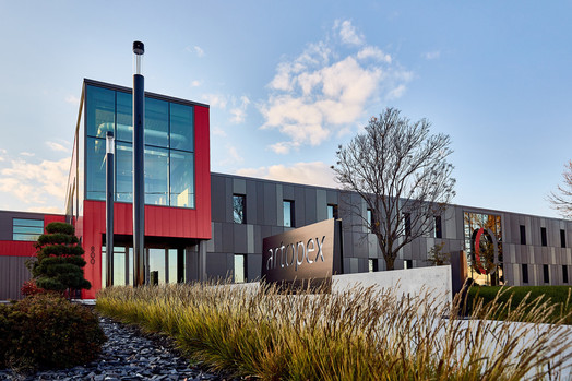 Artopex Granby - Head office by Luc Plante architecture + design Photo credit: Bastiani photography
