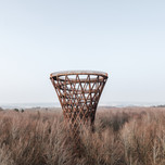 Winner and People's Choice in Landscape Architecture    EFFEKT Architects: Forest Tower, Rønnede, Denmark  Photo credit: AZURE