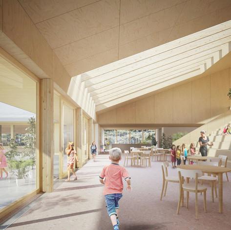 Shefford - Interior view Photo credit: Pelletier de Fontenay et Leclerc architectes