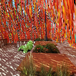 Roof Line Garden  by Julia Jamrozik and Coryn Kempster, Canadian artists and designers based in Buffalo, New York  Photo credit: Joanne Lacoste - MCQ