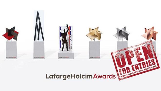 LAFARGE HOLCIM AWARD FOR SUSTAINABLE CONSTRUCTION