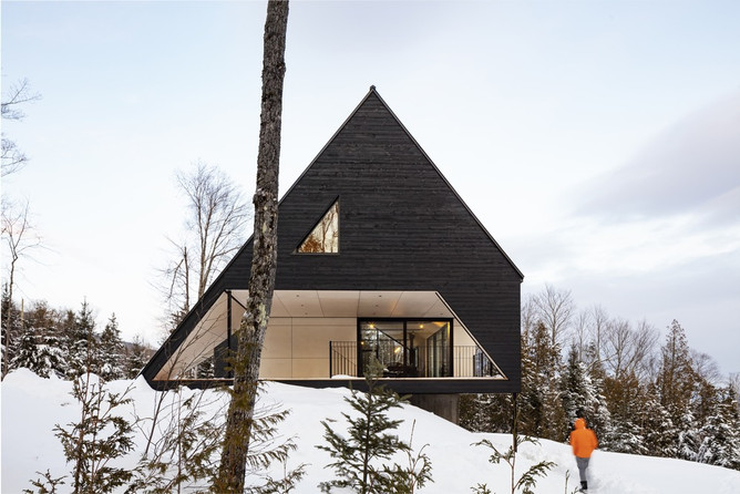 CABIN A  –Bourgeois / Lechasseur architects