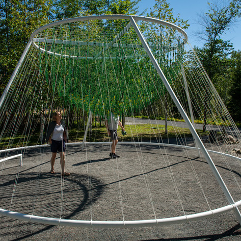 ENTWINE  by Waiyee Chou, Landscape Architect and Carlos Portillo, Landscape Architect  Toronto (Ontario) and Montreal (Quebec) Canada  Photo credit: Martin Bond