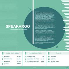 Innovation in Tech winner  - SPEAKAROO by Hoang Nguyen