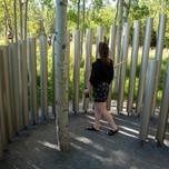 Corps de résonance  by Charlotte Barbeau, Designer, Leila Desrosiers, Designer, Félix Roy, Environmental Designer and Jean-Benoit Trudelle, Intern in architecture  Montreal (Quebec) Canada  Photo credit: Martin Bond