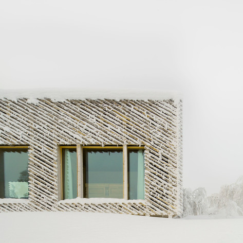 Winner in Architecture, Single-Family Houses    Mork-Ulnes Architects: Skigard Hytte, Kvitfjell, Norway  Photo credit: AZURE