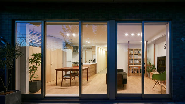 HOUSE WITH SLIDING DOORS | MASAKI SUZUKI ARCHITECTS
