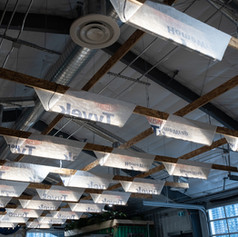 Winner and People's Choice in Design, Lighting Installations    Stacklab: Temporary Tyvek Lighting Installation at Stackt Market, Toronto, Canada  Photo credit: AZURE