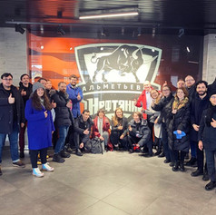 FEB 20th 2020- DAY 2 THE FINALISTS WALKED THROUGH THE CITY CENTER AND VISITED KEY PUBLIC SPACES
