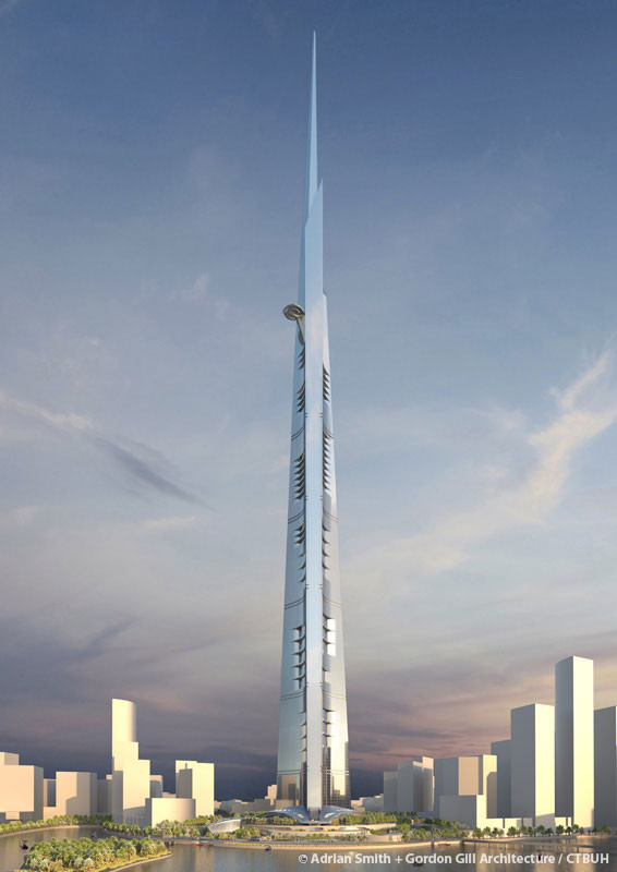 Jeddah Tower | Future Top Tallest Building in the World.