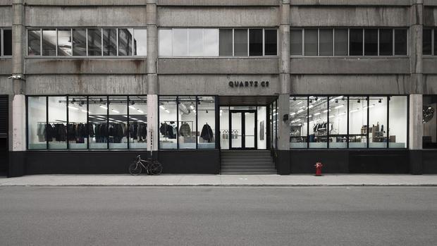 QUARTZ CO.'S FIRST BOUTIQUE | Quartz Co., Blanchette Architectes et Rainville Sangaré