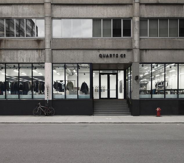 QUARTZ CO.'S FIRST BOUTIQUE | Quartz Co., Blanchette Architectes et Rainville Sangaré