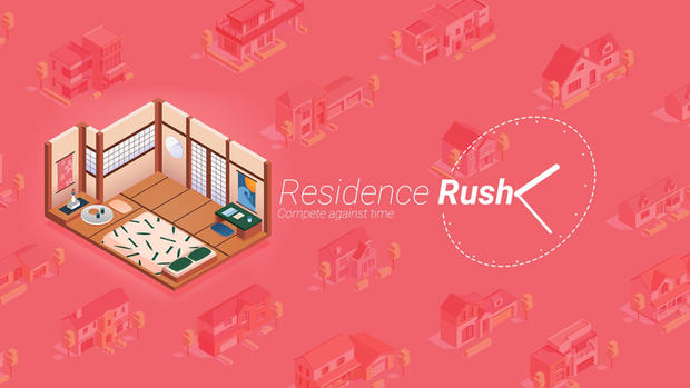 Residence Rush - Fast paced residence design competition