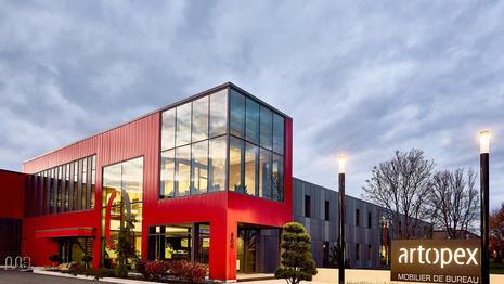 ARTOPEX GRANBY - HEAD OFFICE   Luc Plante architecture + design