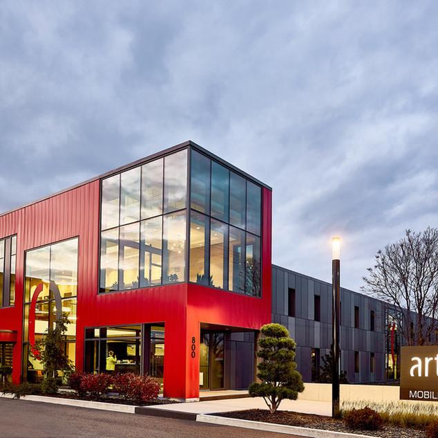 ARTOPEX GRANBY - HEAD OFFICE | Luc Plante architecture + design