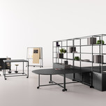 Winner and People's Choice in Design, Furniture Systems and Collections    Fantoni with Gensler: Atelier  Photo credit: AZURE