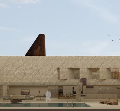 The Sunken House   ©Vimal patel, Dilip revar