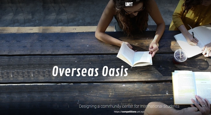 OVERSEAS OASIS ARCHITECTURE COMPETITION