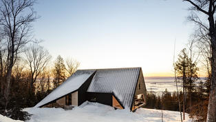 CABIN A | Bourgeois / Lechasseur architects