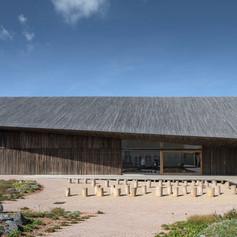 Winner in Environmental Leadership    Dorte Mandrup: The Wadden Sea Centre, Ribe, Denmark  Photo credit: AZURE