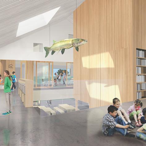 Maskinongé - Class views Photo credit: Paquet - Taillefer et Leclerc architectes