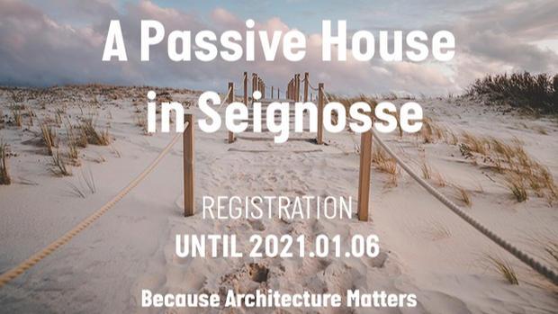 A PASSIVE HOUSE CONSTRUCTION IN SEIGNOSSE