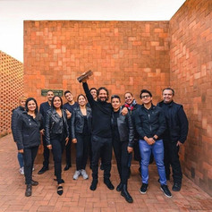 A+Award-winners Ivan Marín Arquitectura celebrate their win Photo credit: Ivan Marín Arquitectura  Download