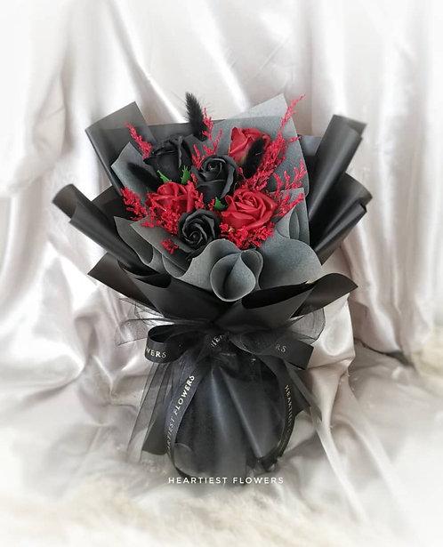 Mystery Black - Soap Flower Bouquet