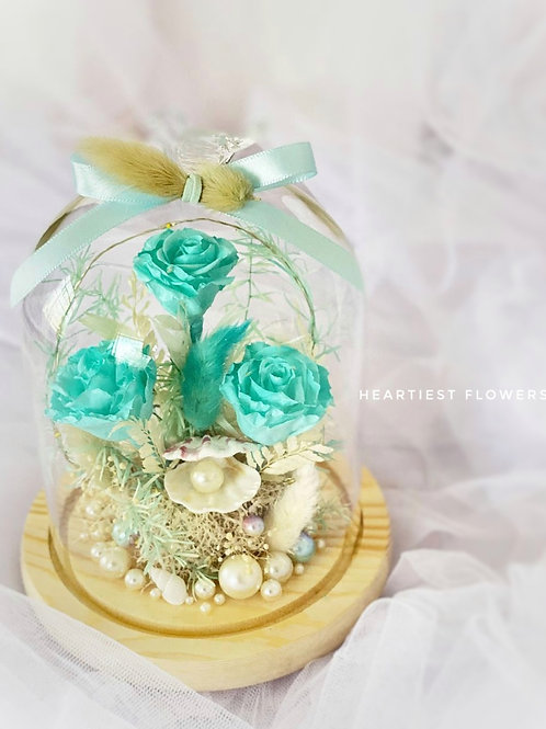 Tiffany Ocean Dream - Preserved Flower Arrangement