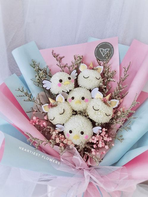 Animal Lover - Fresh Flower Bouquet