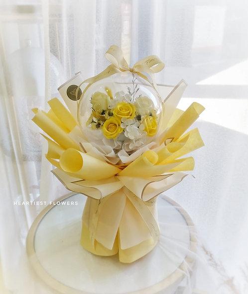 Bubble Dreamland - Yellow Soap Flowers