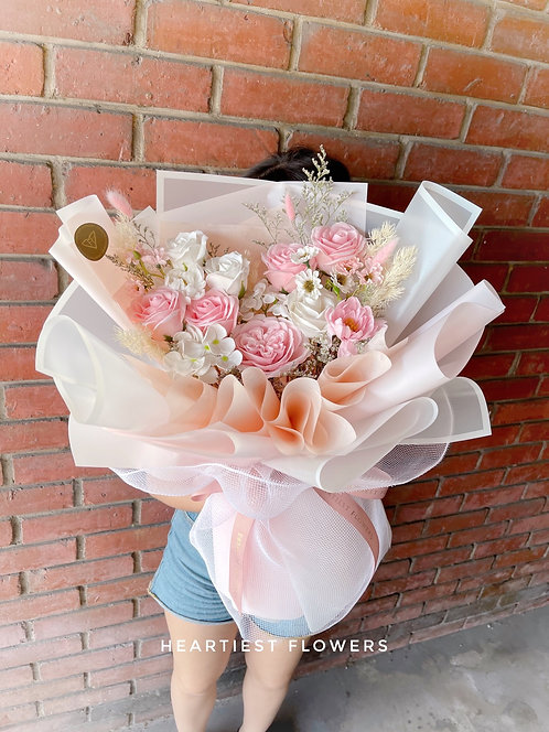 Pastel Bloom - Soap Flower bouquet