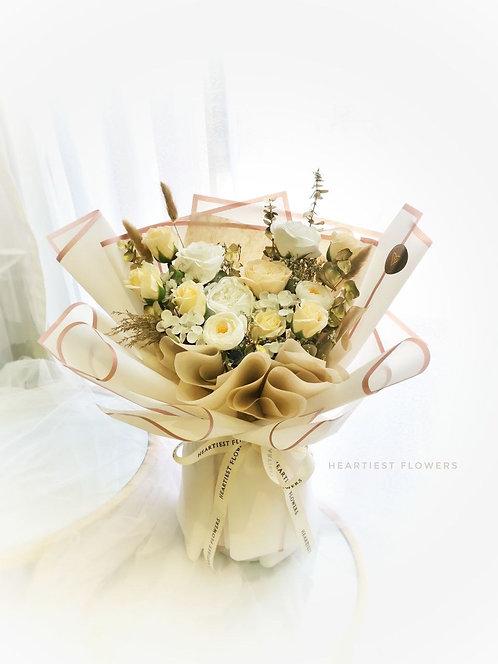 Champagne Love - Soap Flower Bouquet