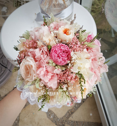 Soft Colour Bridal Bouquet