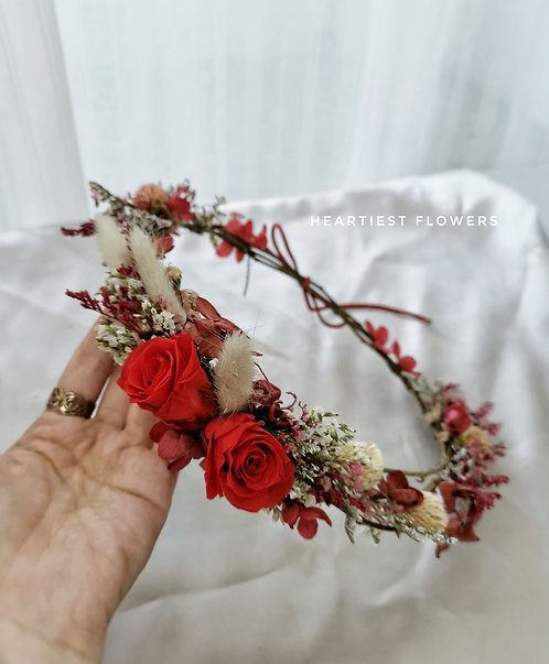 Vintage Flower Crown