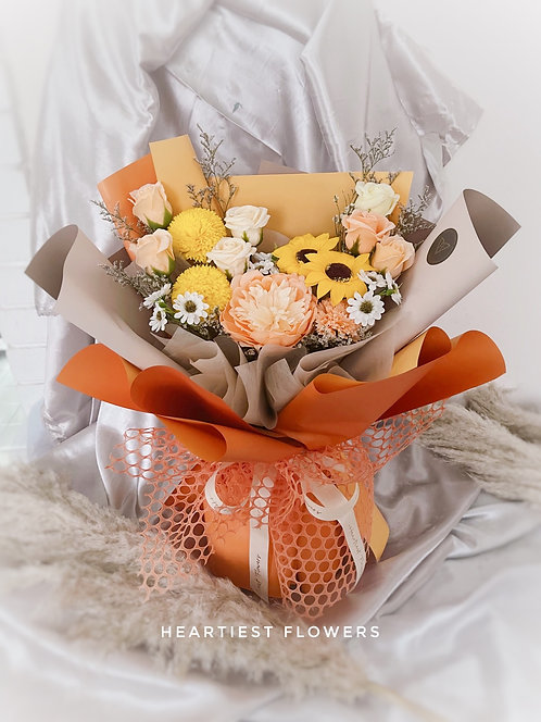 Summer Vibes - Soap Flower Bouquet
